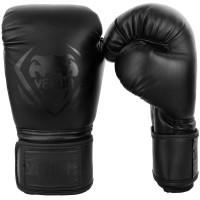 Боксерские перчатки venum contender black/black