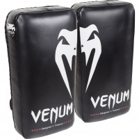 Тайпэды venum giant kick pads - black/ice