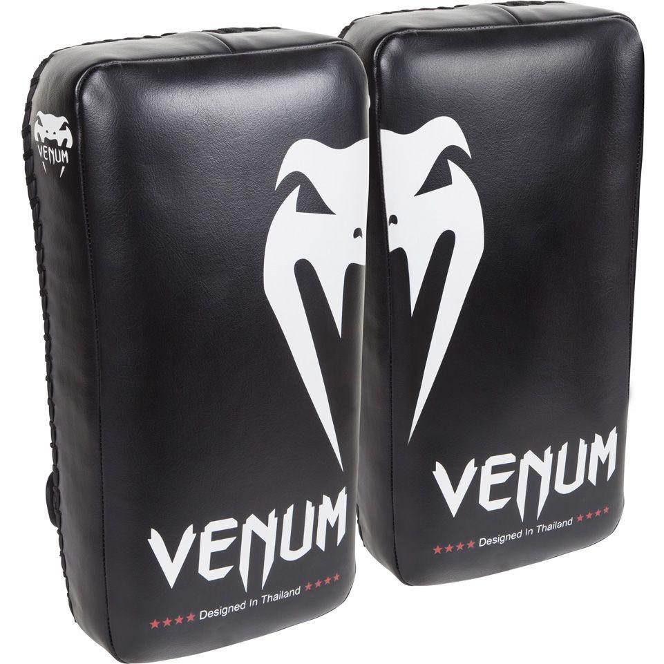 Тайпэды venum giant kick pads - black/ice