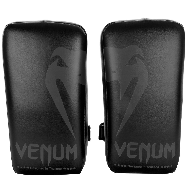 Тайпэды venum giant kick pads - black/black