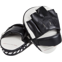 Лапы venum light focus mitts - ice/black