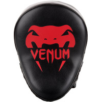 Лапы venum light focus mitts black/red