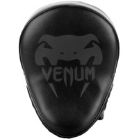Лапы venum light focus mitts black/black