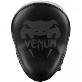 Лапы venum light focus mitts black/red