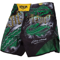 Шорты venum crocodile black/green