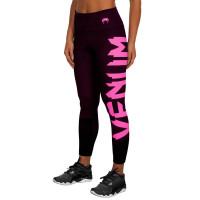 Компрессионные штаны venum women giant black/pink