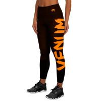 Компрессионные штаны venum women giant black/orange