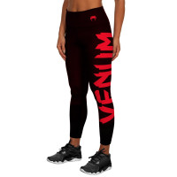 Компрессионные штаны venum women giant black/red