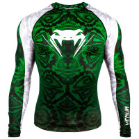 Рашгард venum amazonia 5.0 rashguard long sleeve green