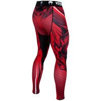Компрессионные штаны venum bloody roar spats red