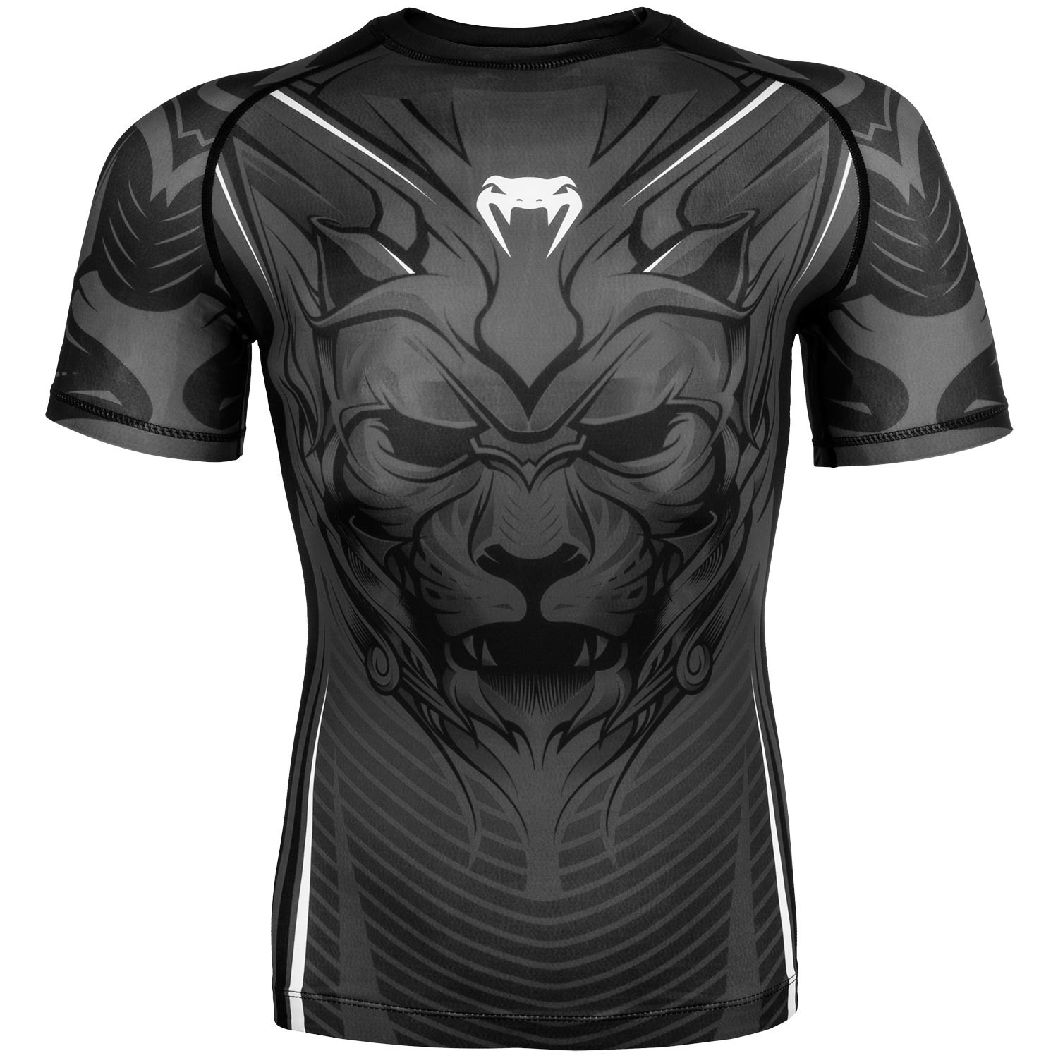 Рашгард venum bloody roar short sleeves black