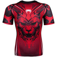 Рашгард venum bloody roar short sleeves red