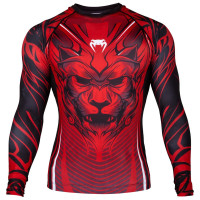 Рашгард venum bloody roar long sleeves red