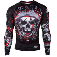 Рашгард venum pirate 3.0 long sleeves red