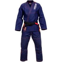 Кимоно для бжж venum challenger 3.0 bJJ gi navy orange