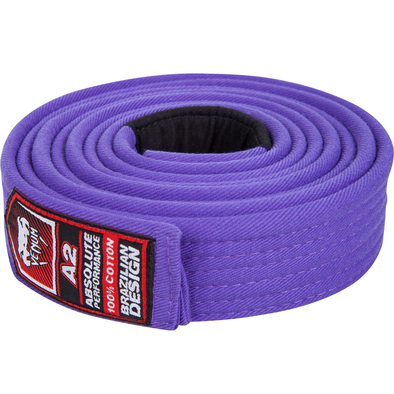 Пояс для ги бжж venum purple