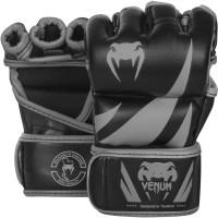 Перчатки для mma venum challenger neo black/grey
