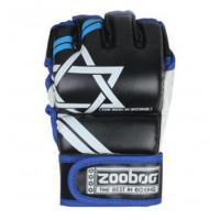 Перчатки для mma zooboo blue