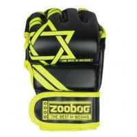 Перчатки для mma zooboo yellow