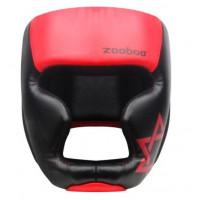 Шлем боксерский zoboo black red