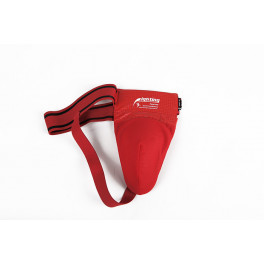 Защита паха kangrui steel cup red