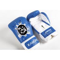 Боксерские перчатки kangrui kids blue