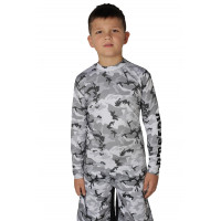 Рашгард berserk camo kids grey