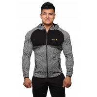 Мужское худи berserk evolution fit melange