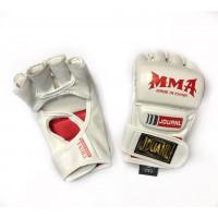 Перчатки для mma zooboo jouanl white