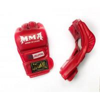 Перчатки для mma zooboo jouanl red