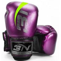 Боксерские перчатки bn microfiber fight - puple