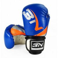 Боксерские перчатки bn kids blue