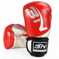 Боксерские перчатки bn kids red