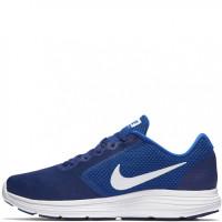 Мужские беговые кроссовки nike revolution 3 blue 819300-407