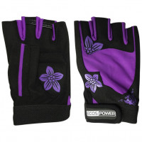 Перчатки для фитнеса ecos power black purple 5106