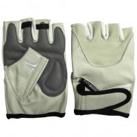 Перчатки мужские для фитнеса ecos power бежевые 5102