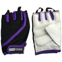 Перчатки для фитнеса женские ecos power purple 2311