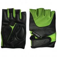 Перчатки мужские для фитнеса Ecos power зеленые 5102