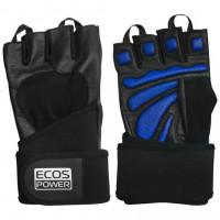 Перчатки для фитнеса мужские ecos power 2006