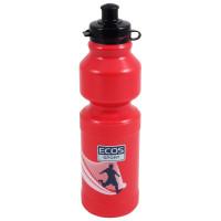 Бутылка для воды ecos 750 мл красная