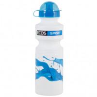 Фляга велосипедная ecos синяя волна