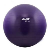Мяч гимнастический starfit GB-101 85 см, антивзрыв, фиолетовый