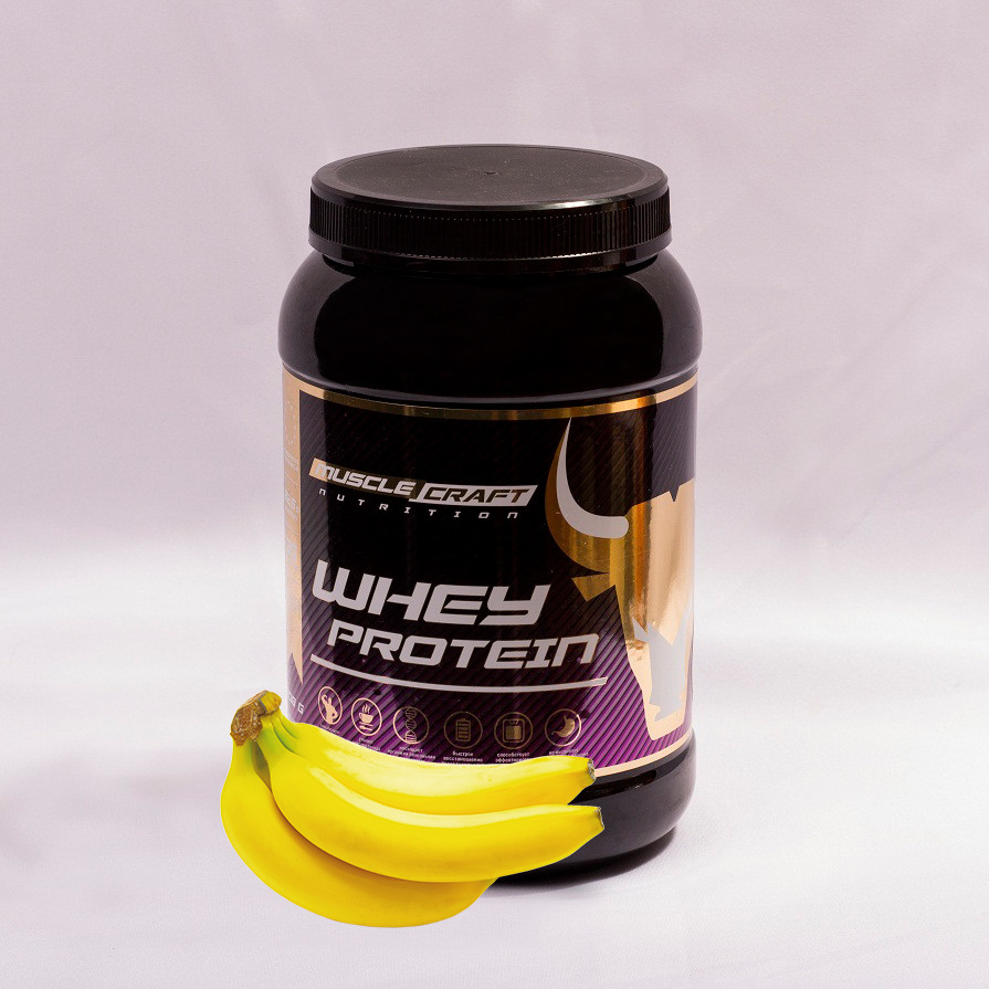 Протеин от musclecraft whey protein (банан)