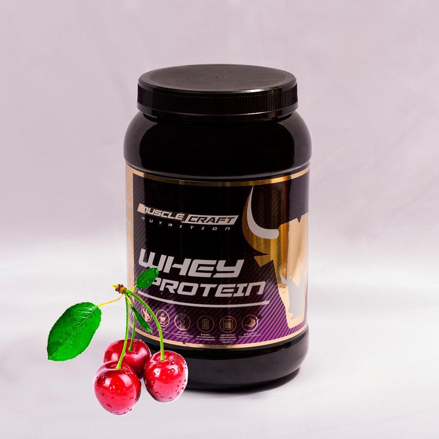 Протеин от musclecraft whey protein (вишня)