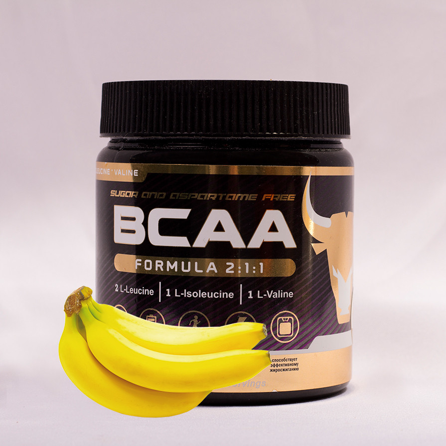 БЦАА от musclecraft bcaa formula 2:1:1 (банан)