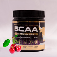БЦАА от musclecraft bcaa formula 2:1:1 (вишня)
