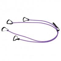 Эспандер для постановки удара к двери absolutechampion 6кг фиолетовый