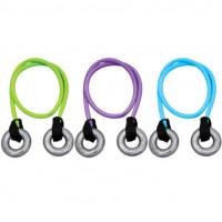 Эспандер 2 в 1 кистевой+силовой absolutechampion 6кг фиолетовый