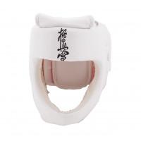 Шлем bfs модель - kyokushinkai экокожа белый