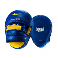 Лапы everlast pro elite leather mantis синии